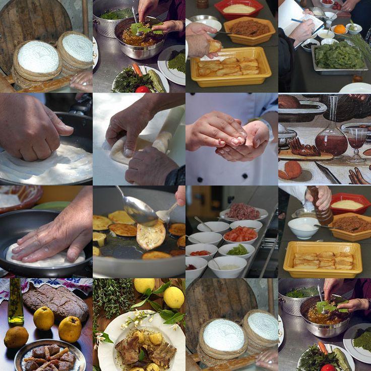Enagron Activities: Cooking classes, cretan diet