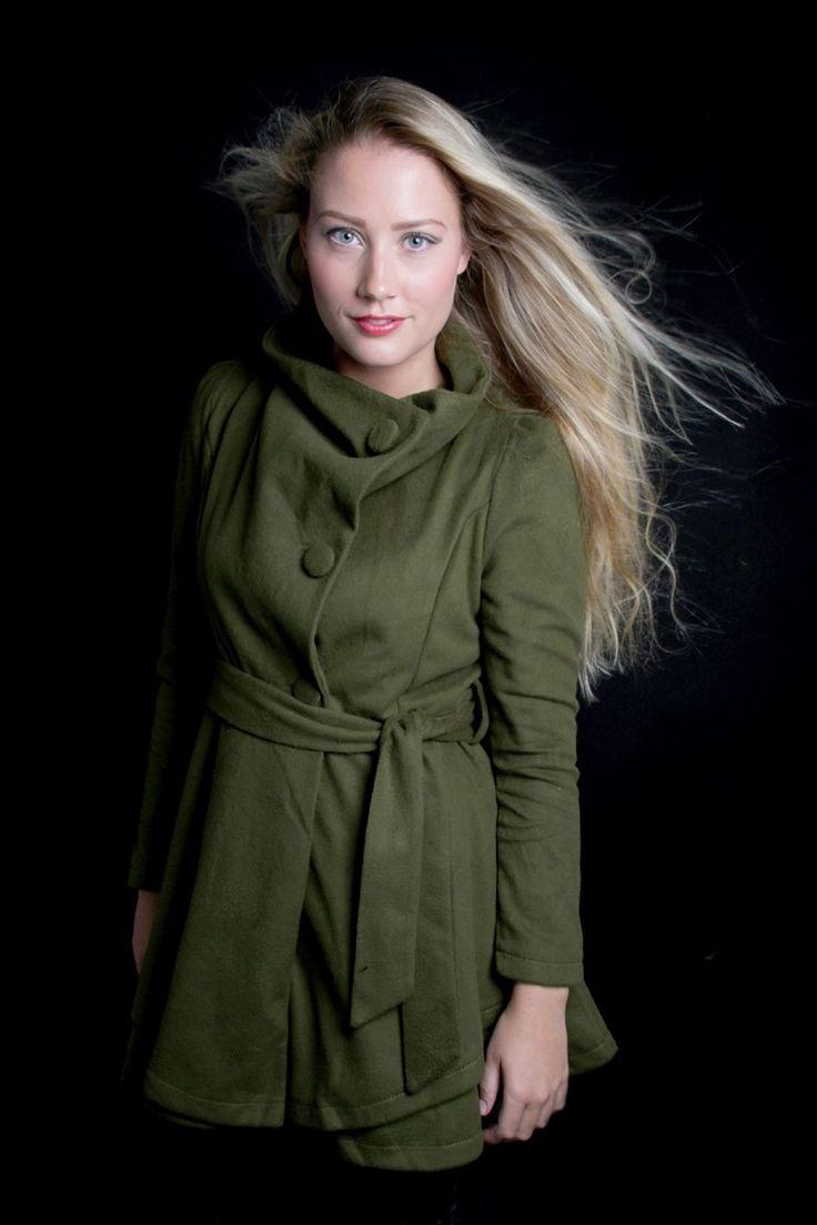 groene jas op www.miss-p.nl