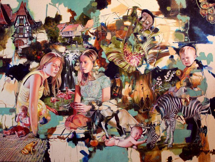 Jasmine Middlebrook, Award winning artist - Artbay Gallery / New Zealand Contemporary Art