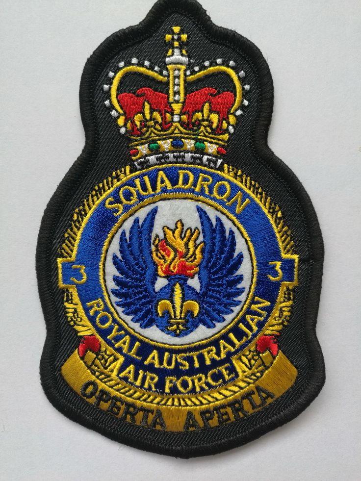 Defence Gifts - 3Sqn RAAF Crest Uniform Patch RAAF, $8.50 (http://www.defencegifts.com.au/3sqn-raaf-crest-uniform-patch-raaf/)