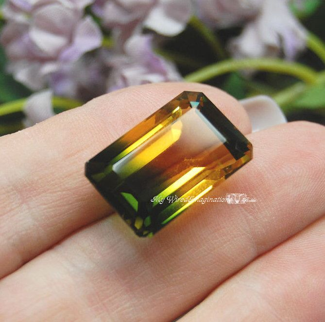 Reserved for Amy Beautiful Large 25.53ct Yellow Green Ametrine Bi-Color Quartz Faceted Gemstone Jewelry Supply November May Birthstone by MyWiredImagination on Etsy https://www.etsy.com/listing/253969918/reserved-for-amy-beautiful-large-2553ct                                                                                                                                                                                 More