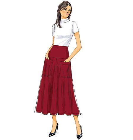 butterick Fast&Easy B6249, Misses' Skirt  $19.95