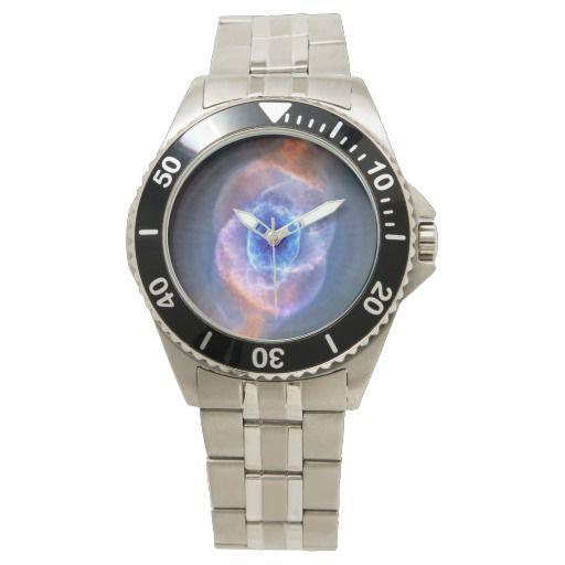 Cat's Eye Nebula wrist watch