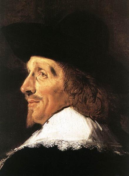 Regents of the St Elizabeth Hospital of Haarlem (detail) - Frans Hals