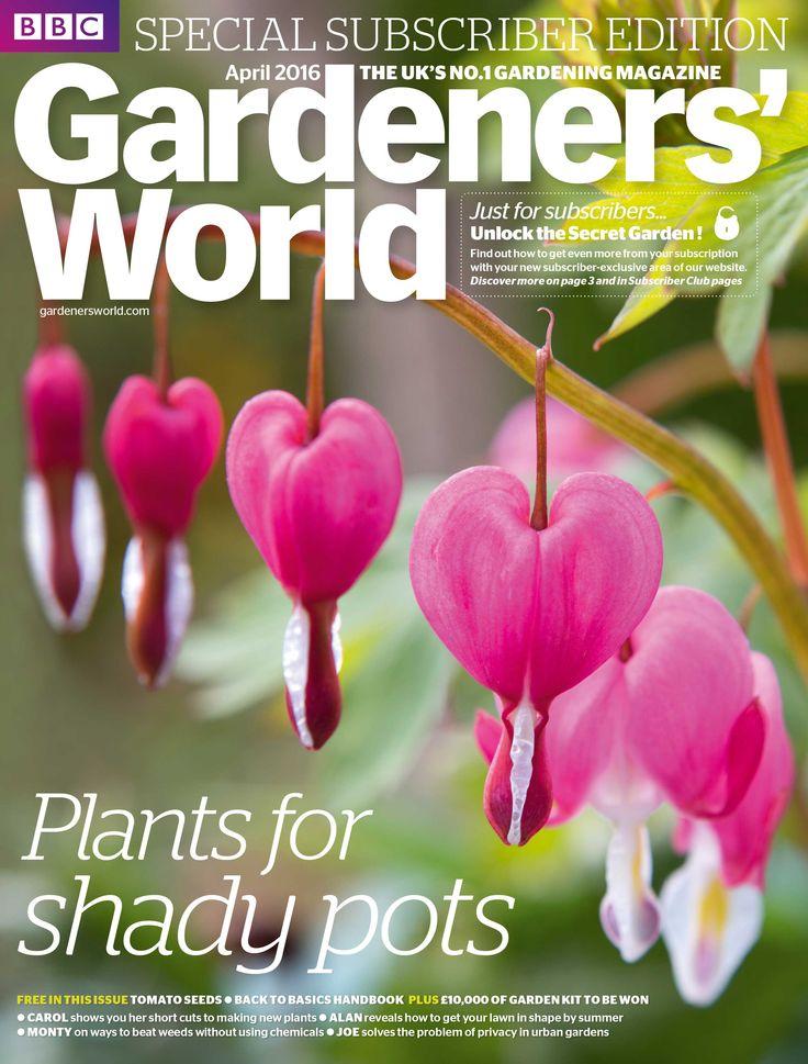 BBC Gardenersu0027 World Magazine Subscription