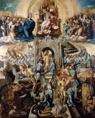 Julgamento das Almas, mestre português desconhecido, 1541.