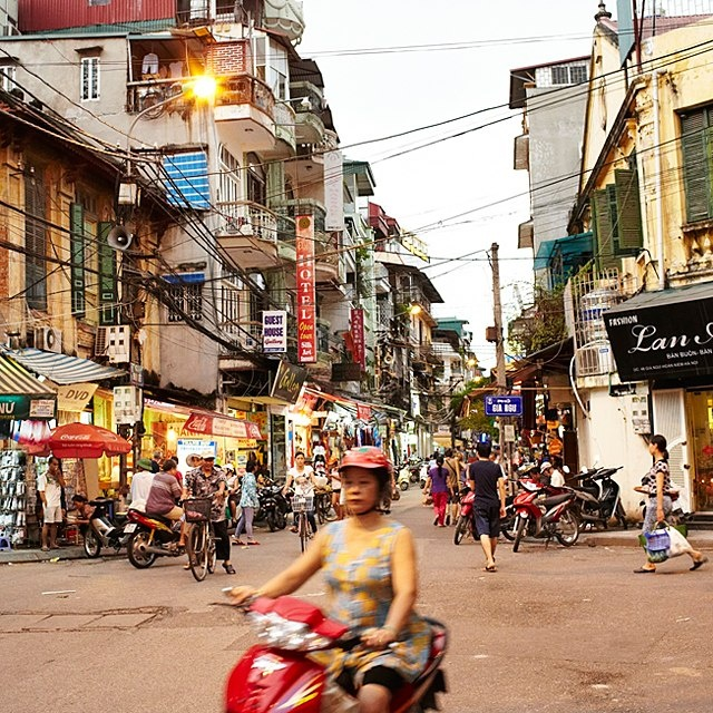 Just beyond your hotel sits Hanoi's bustling Old Quarter, which buzzes with activity all day long. Come early to browse the food markets in peace.