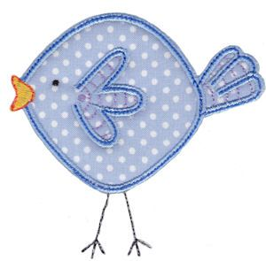 Embroidery   Free Machine Embroidery Designs   Bunnycup Embroidery   Here Birdy Applique