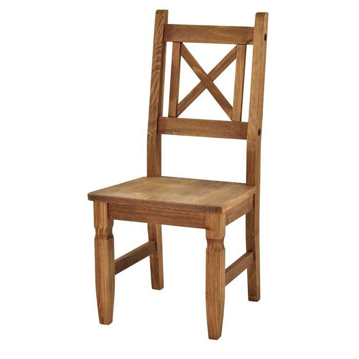 Vintage Massivholz Esszimmerstuhl aus Kiefer Massivholz online kaufen er Set Jetzt bestellen unter https