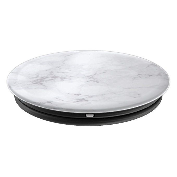 Amazon Com Light White And Grey Marble Popsockets Grip And Stand For Phones And Tablets Cell Phones A Popsockets Cell Phone Accessories Phone Accessories