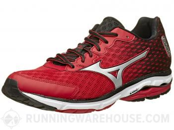 Mizuno Wave Rider 18 Men's Shoes Red/Silver/Black