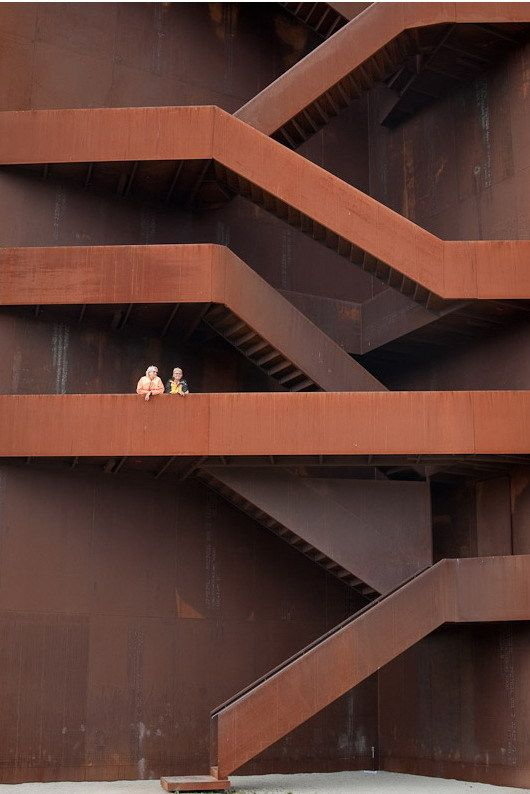 30 best images about corten on pinterest flats cor ten for Architecture originale