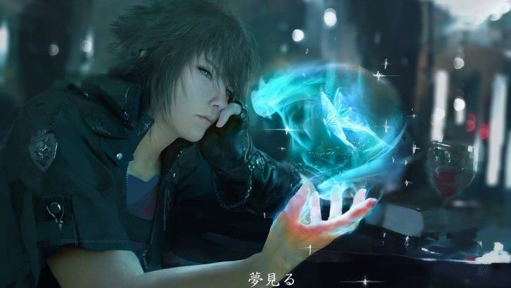 Noctis Final Fantasy XV Game Art Wallpaper