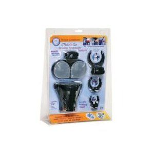 Click 'N Go Stroller Kit - Clips, Cup Holder, Snack Cup, Bottle Holders and more!