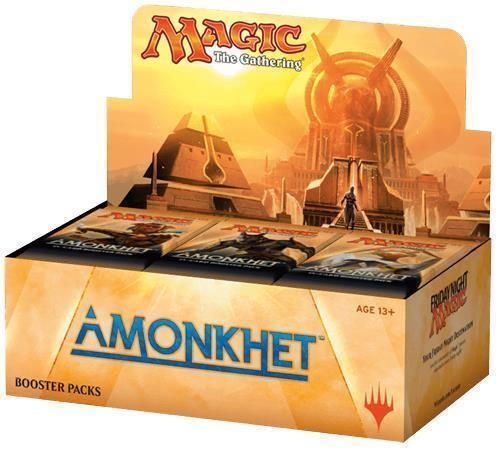 AMONKHET BOOSTER BOX MTG FACTORY SEALED *** DEAD TIME MAGIC *** #MagicTheGathering