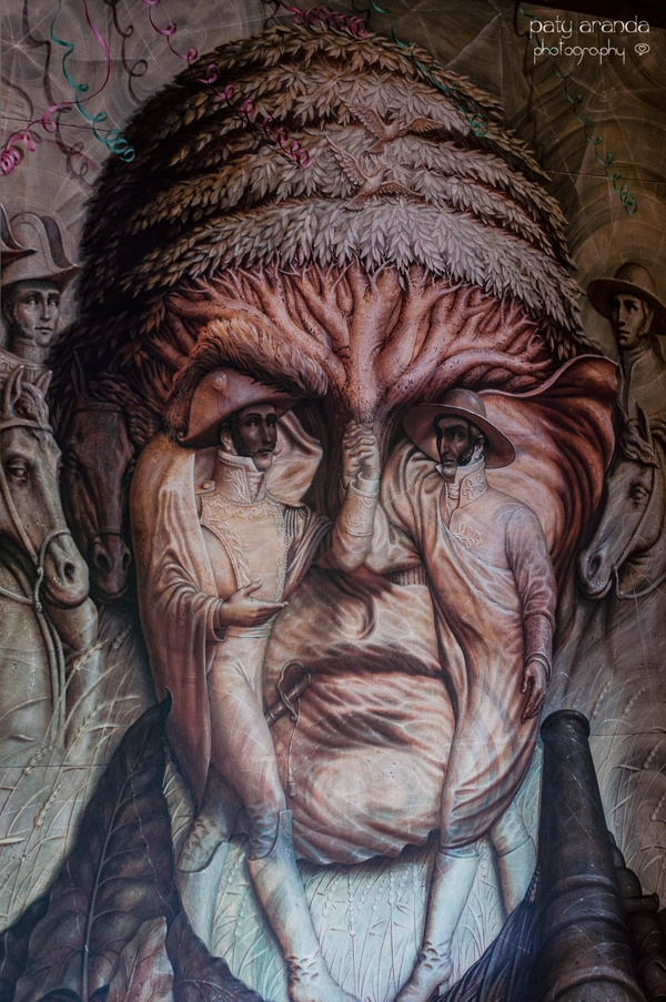 Murales de Octavio Ocampo en Celaya, Guanajuato. Imágenes de la fotógrafa Paty Aranda http://patyaranda.blogspot.mx/ morelos-web.jpg (600×903)