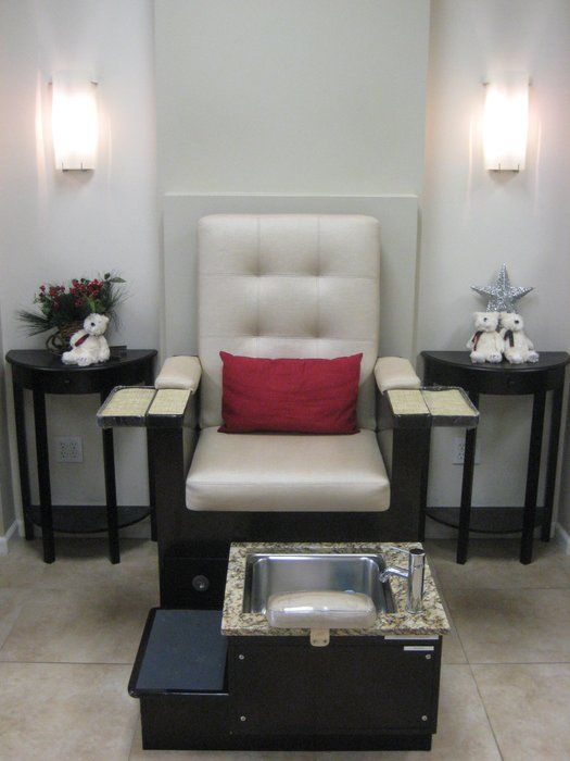 Manicure Pedicure Chairs Nail Room Ideas Pinterest