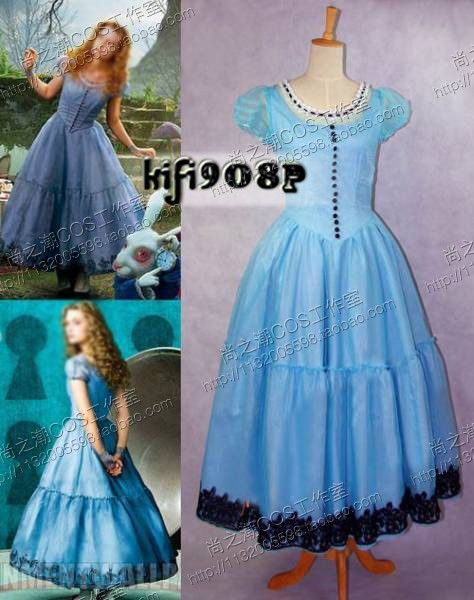 Alice in Wonderland Prom dress maybe for a Wonderland theme?
