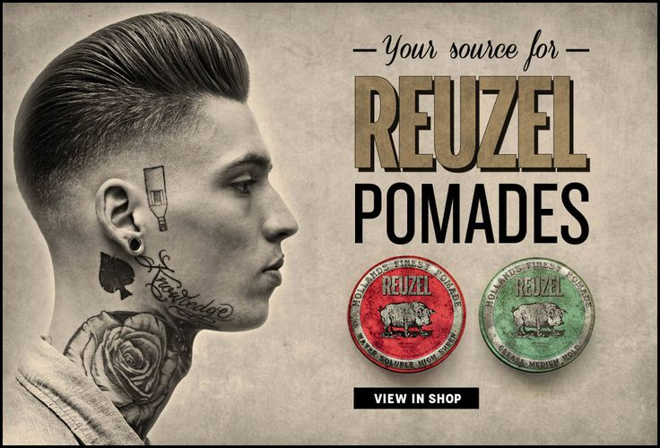 Reuzel Pomade | The Worlds Finest Pomades From Schorem Haarsnijder En Barbier