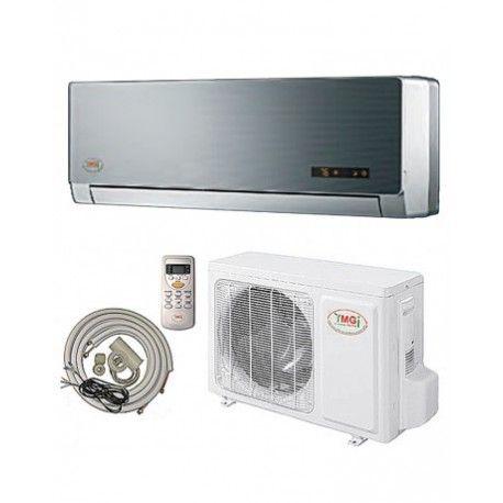 DUCTLESS MINI SPLIT AIR CONDITIONER HEAT PUMP 208-230V 13 SEER 25 FT COMPLETE KIT