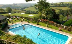 Outdoor Pool for Swimming Outside