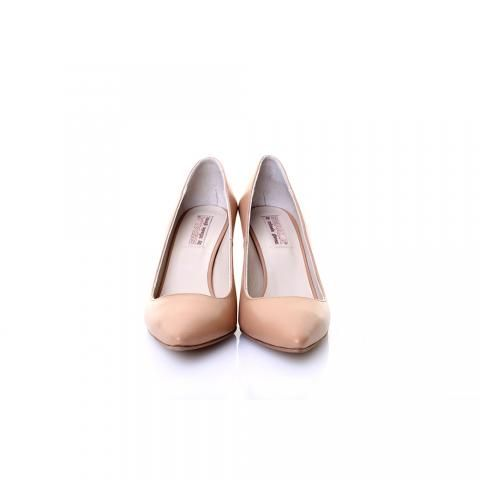 Pantofi piele bej/nude | The Boutique