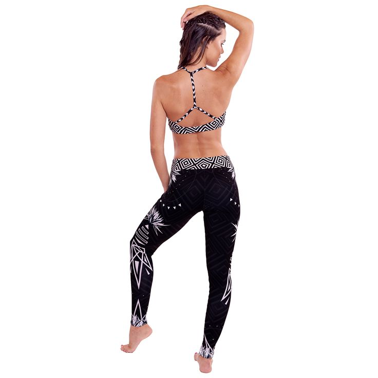 Geo | Gold Fluidity #activewear set by GLOW - a movement brand