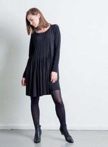 Habits Pleated Front Panel Dress