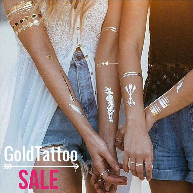 Tatuajes temporales Goldtattoo TINTORETTA Tintorettastyle