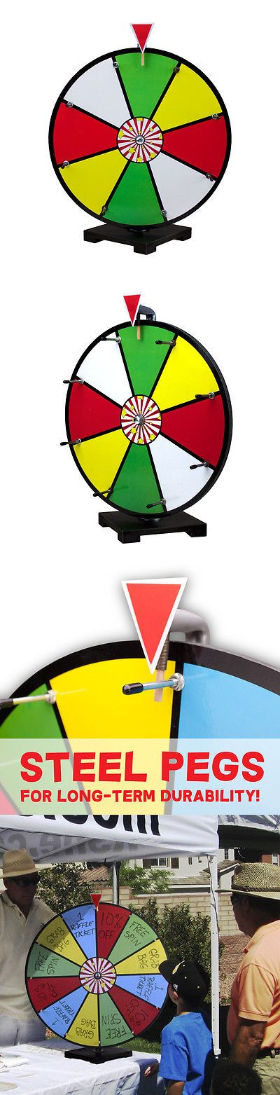 Party Games and Activities 102411: 16 Inch Color Dry Erase Spinning Prize Wheel For Business Tradeshow Party Events -> BUY IT NOW ONLY: $75.06 on eBay!