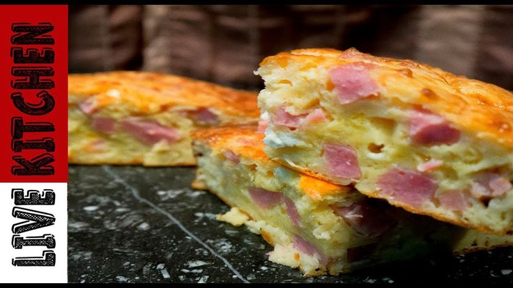 H πιο εύκολη γρήγορη και νόστιμη ζαμπονοκασερόπιτα - The best Ham & Chee...