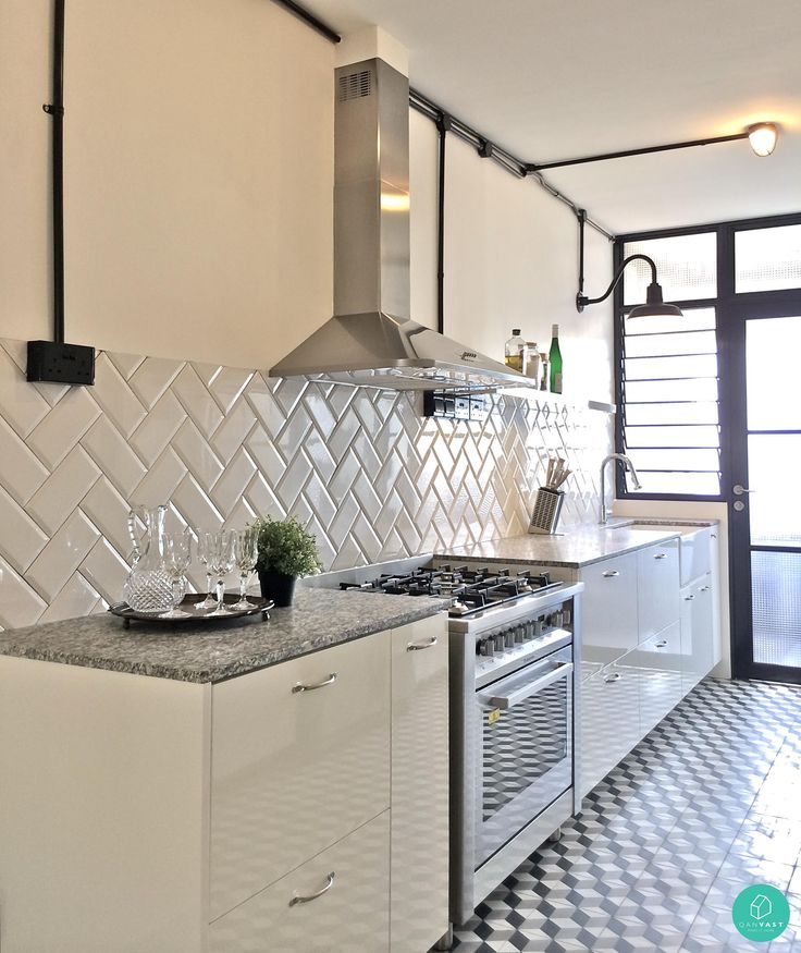 New Kitchens With White Cabinets