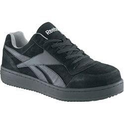 Want the feel of a tennis shoe with a safety toe?  Here it is!  Steel Toe Skater Work Shoe.....