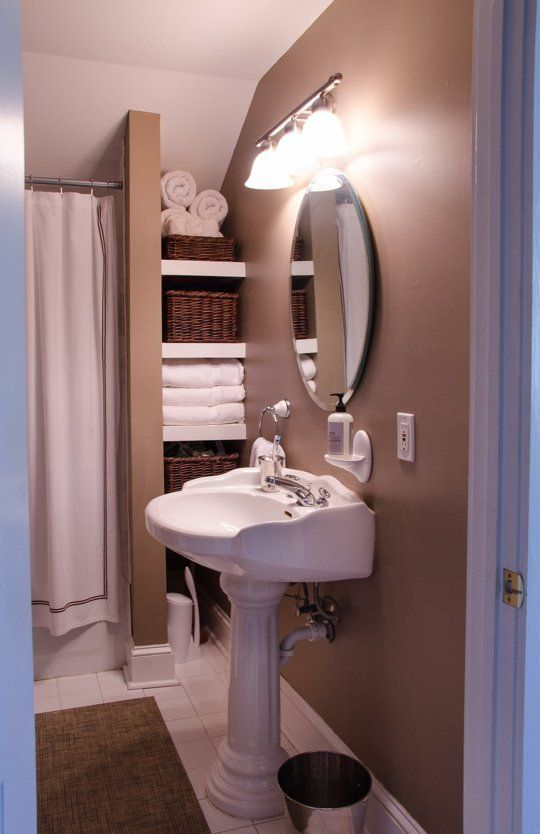 Windowless Bathrooms: 9 That Aren't Bad at All (And Why!) | Apartment Therapy