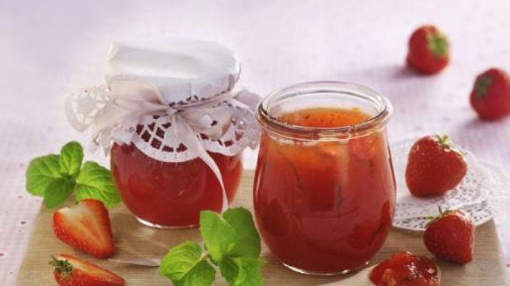 Statt Marmelade mal ein Erdbeer-Aufstrich der anderen Art!