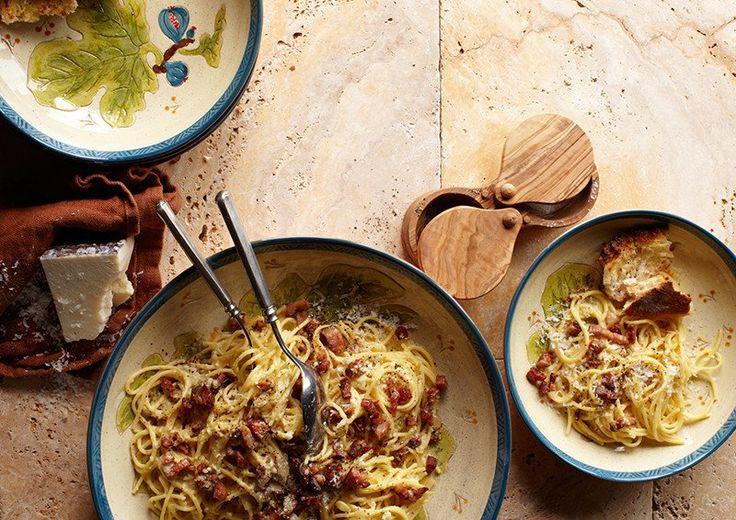 Spaghetti Carbonara – Blok18.dk