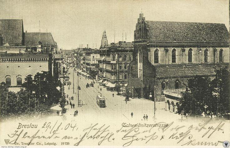 Ulica Świdnicka w początkach XX w, Lata 1900-1902