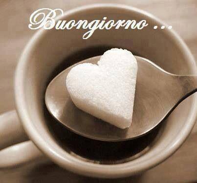 Buongiorno - good morning