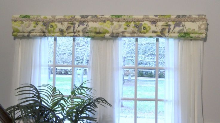 Double Window Treatment With Sheers Decowrap No Sew