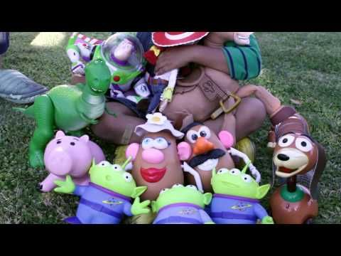 Live-Action Toy Story movie  Toy story three ending. best every if you see this watch this it is sooo cute!