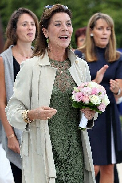 8, 2017. Princess Caroline of Hanover arrives to visit the 'Danse, Danse, Danse' exhibition at the 'New National Museum of Monaco' in Monaco on September 22, 2016. The exhibition will run from September 23 to January 8, 2017.