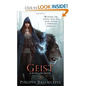 Geist. First Book of the Order came out in October 2010. Sorcha and the Rossin on the Cover. Art by Jason Chan