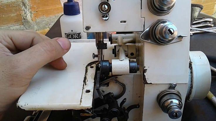 Overlock casera. ajuste del ancora IZQUIERDO | mecanica confeccion