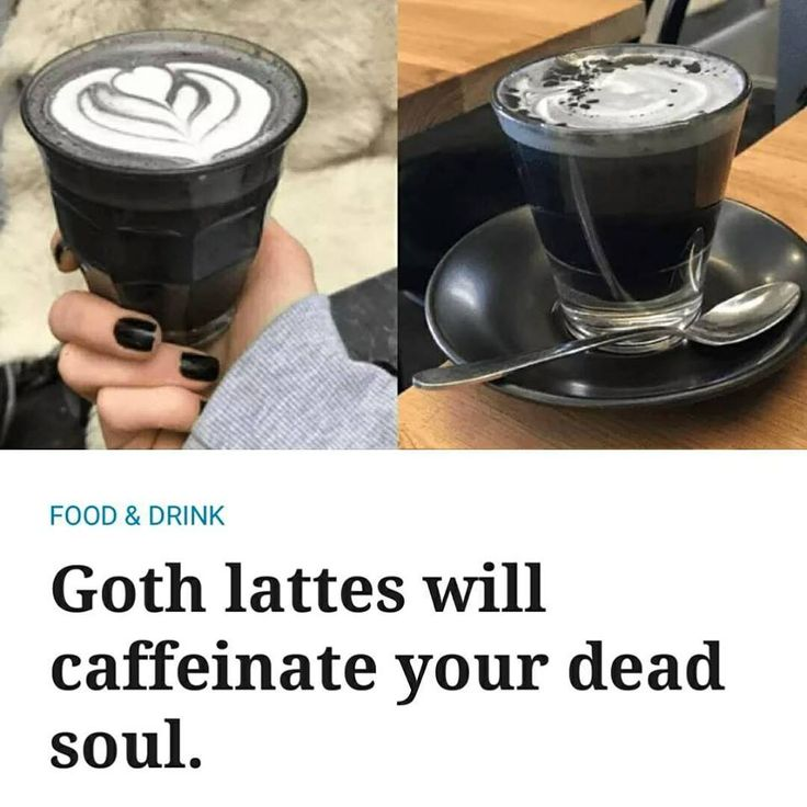 Dark souls of the  ACT rejoice - gothic lattes are finally a thing.Gothic features an engraved poetic homage to all things black.