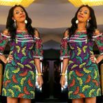 """59 Likes, 3 Comments - Meera Stitches (@meera_stitches) on Instagram: """"Stoned version of Adufe dress now available.  #7000 only. Contact us on 08029998518 to order. Thank…"""""""