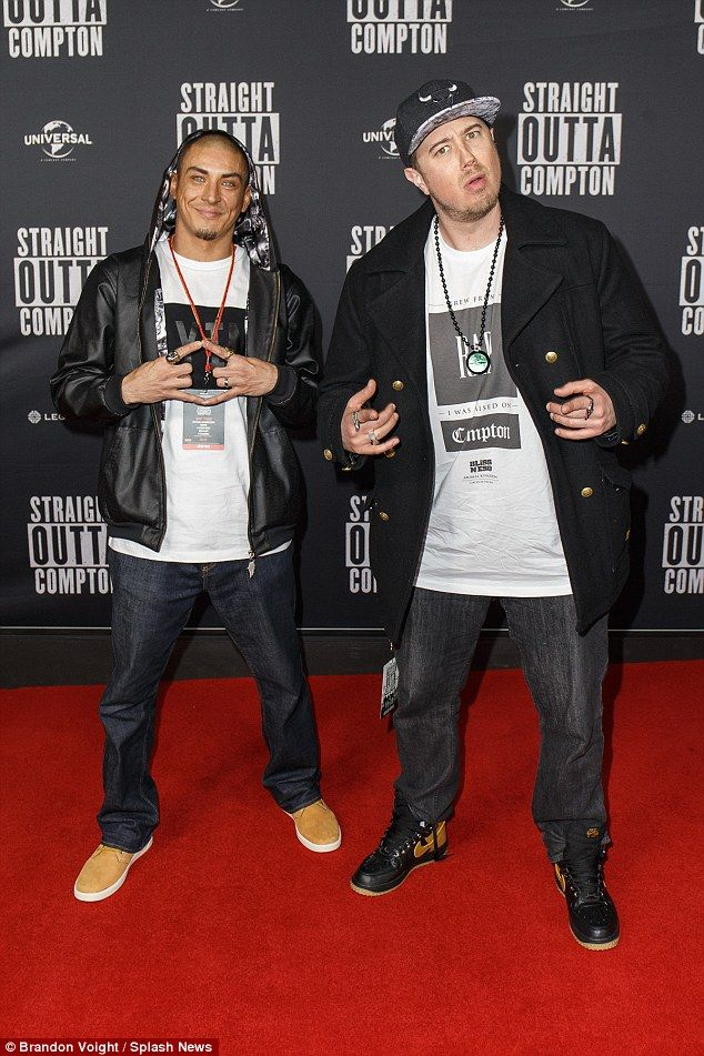 Ready to rap: Australian hip hop stars Bliss N Eso hit the red carpet and did…