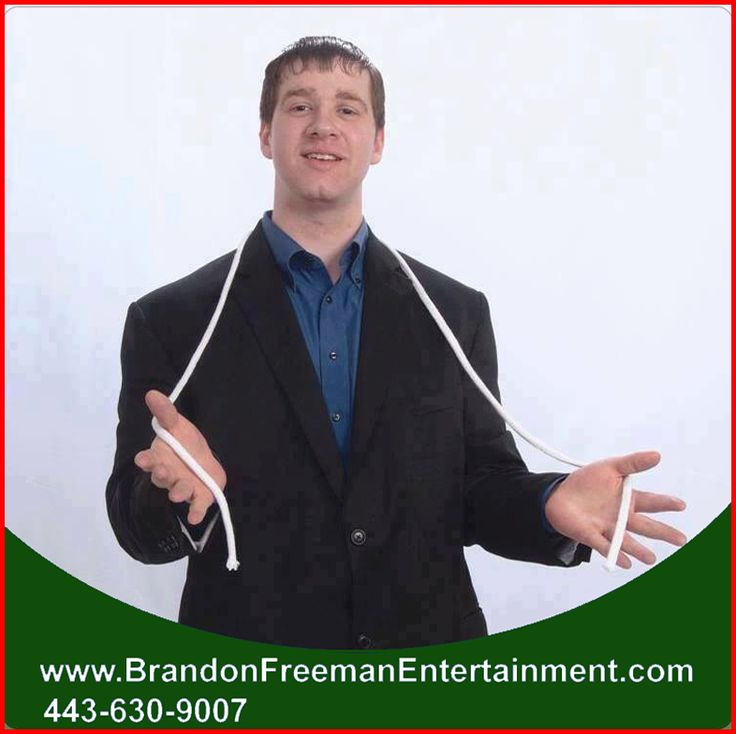 Make your special event wonderful and memorable! HIRE Magician Brandon Freeman … CALL (443) 630-9007 for bookings and inquiries!