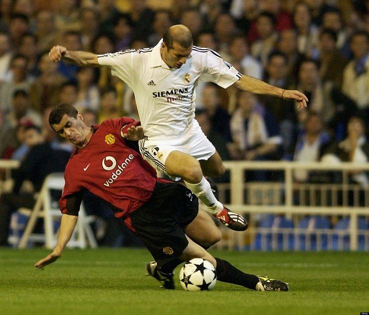 Keane vs Zidane
