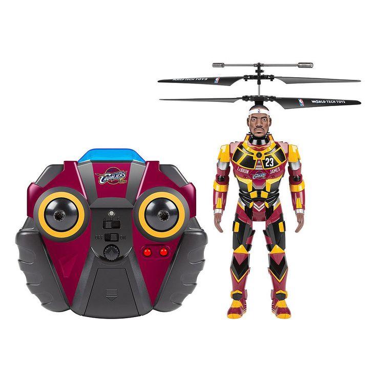 World Tech Toys LeBron James Robo Jam 3.5ch IR Helicopter, Multicolor