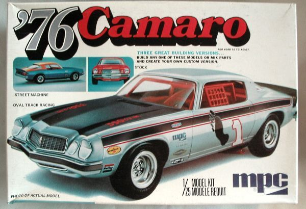 Mpc camaro model kits box art pinterest model car for 2 box auto profondo